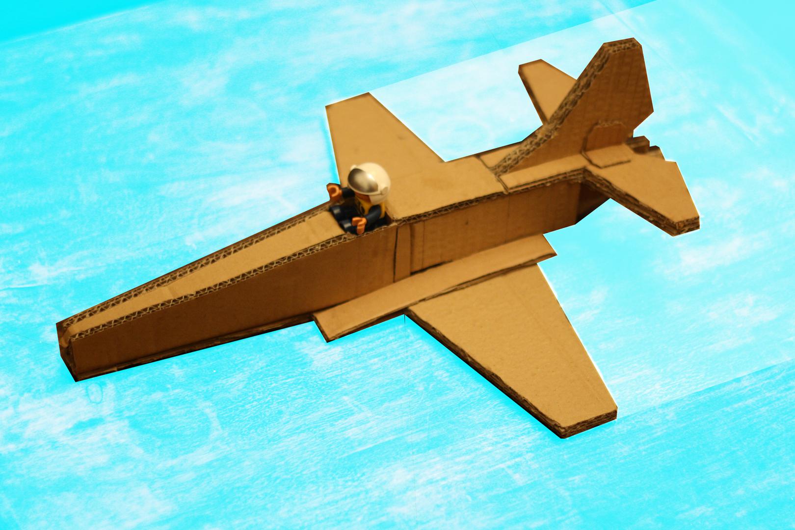 ... box airplane cardboard plane cardboard box airplane cardboard